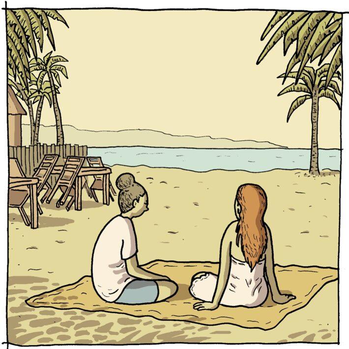 To_piger_på_strand